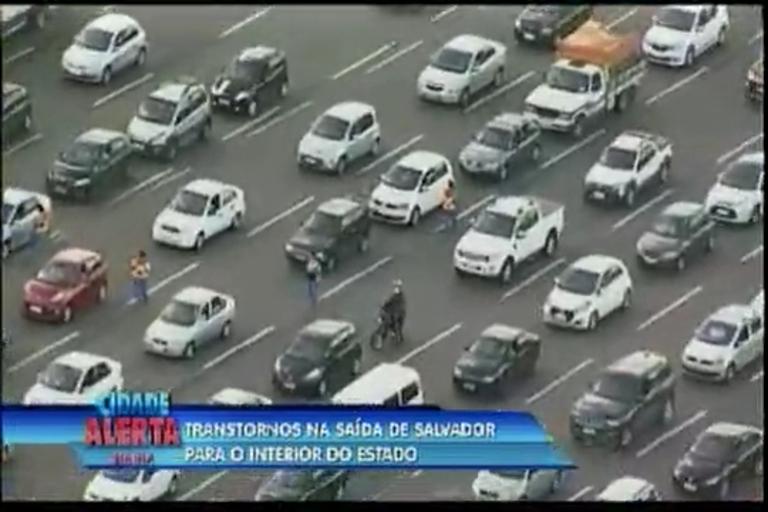 Transtorno na saída de Salvador para o interior do Estado - Bahia ...