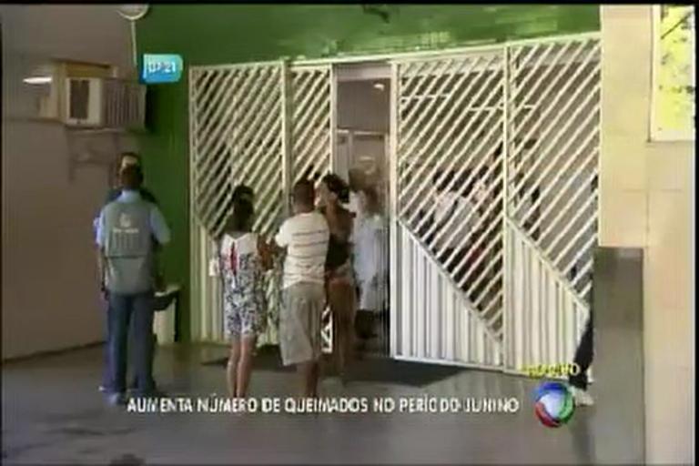 Aumenta número de queimados no período junino - Bahia - R7 ...