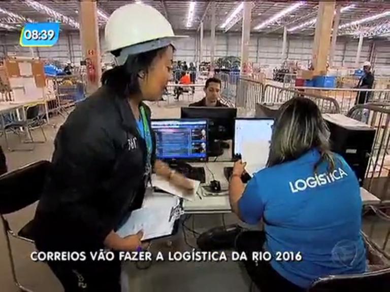 Logística da Rio 2016 será realizada pelos Correios