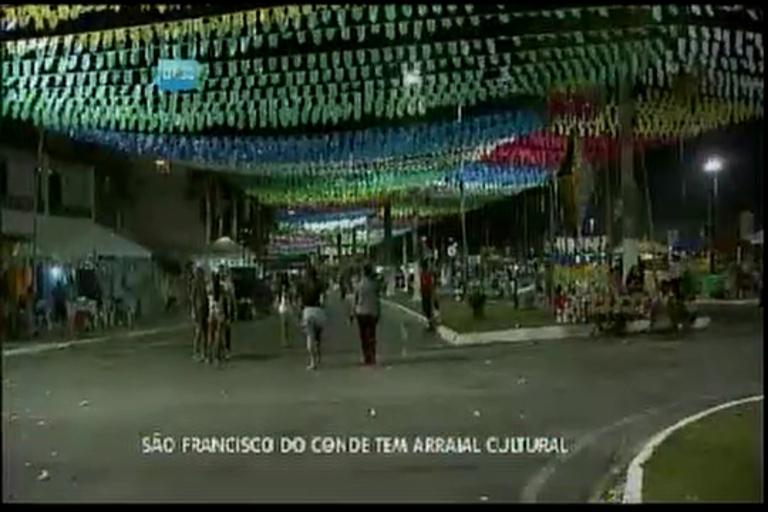 São Francisco do Conde tem arraial cultural