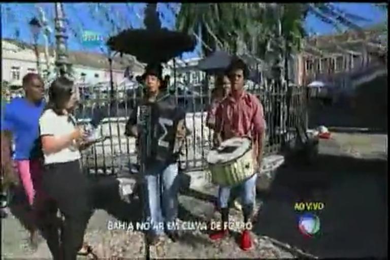 Bahia no Ar em clima de forró