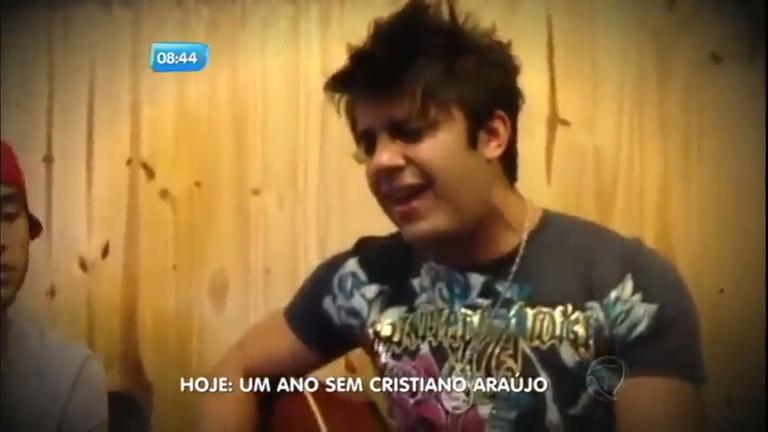 Cristiano Araújo canta música inédita que deixou para Lucas Lucco ...