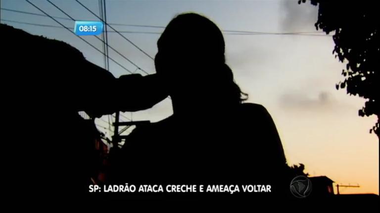 Bandido armado invade creche na zona sul de São Paulo e ameaça voltar