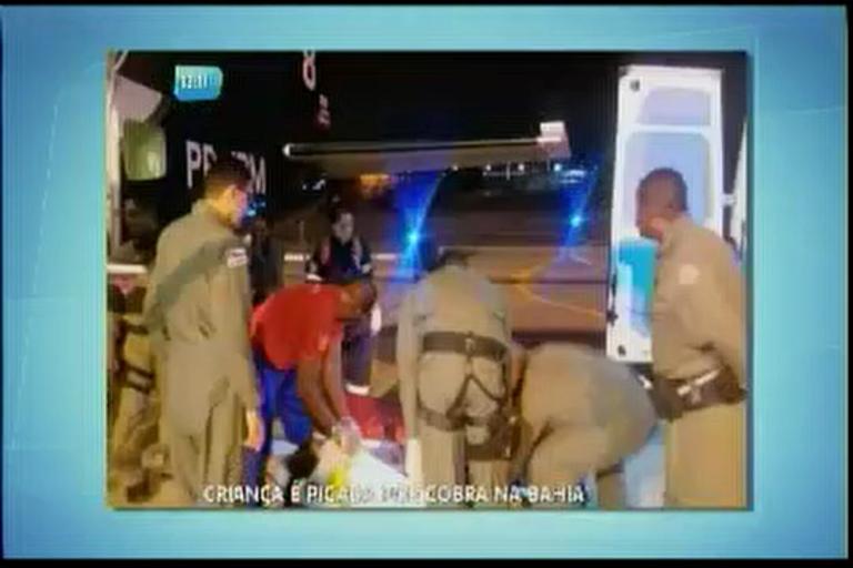 Turista de 10 anos é picado por cobra - Bahia - R7 Balanço Geral BA
