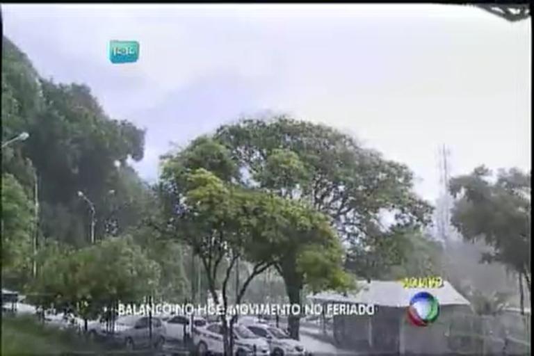 Chuva marca feriado de São João em Salvador