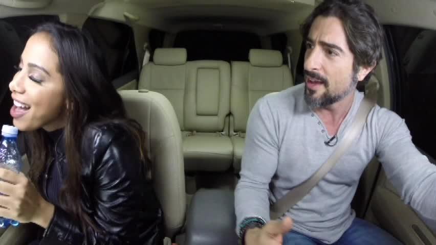 Anitta arrasa e solta a voz no carro de Mion - Entretenimento - R7 ...