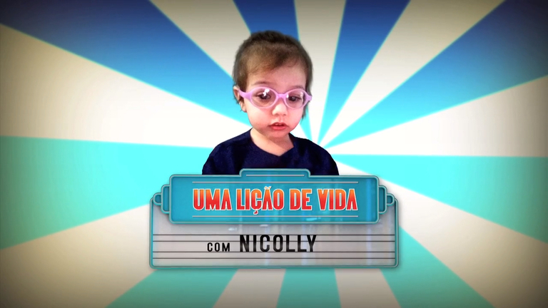 A história da pequena Nicolly vai te emocionar neste domingo (26) no Hora do Faro