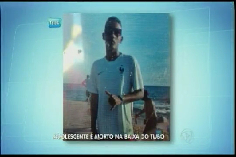Adolescente é morto baixa do tubo