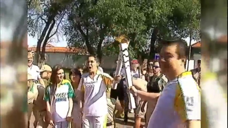 Revezamento da tocha olímpica chega ao Mato Grosso do Sul