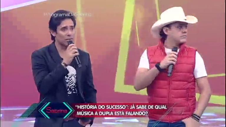 Fãs tentam adivinhar músicas de Guilherme e Santiago pela História do Sucesso