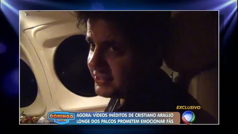 Confira imagens inéditas de Cristiano Araújo longe dos palcos ...