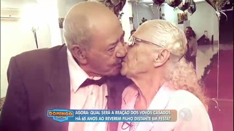 Vovôs casados há 65 anos emocionam a internet e ganham festa ...