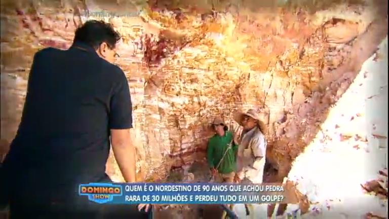 Geraldo Luís mostra vida sofrida dos garimpeiros que buscam ...