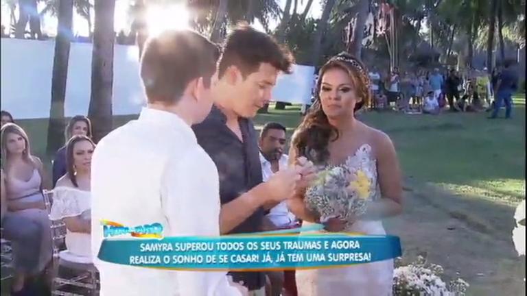 De surpresa: Faro apronta casamento dos sonhos para cantora de ...