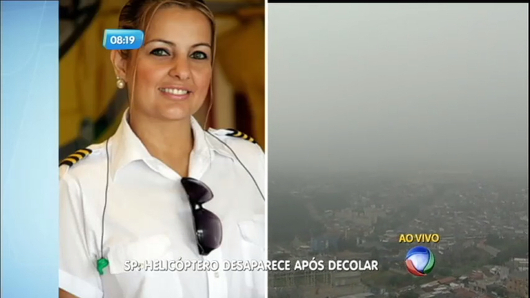 Helicóptero desaparecido: celular de pilota é localizado na Serra do Japi