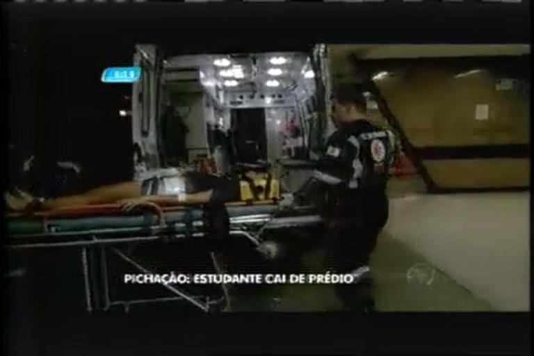 Estudante fratura a coluna ao cair de prédio em Belo Horizonte ...