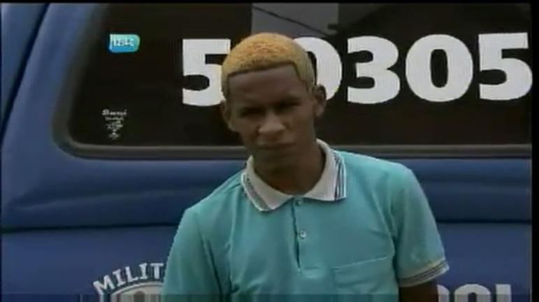 Flagrante: suspeito de assalto a ônibus é preso