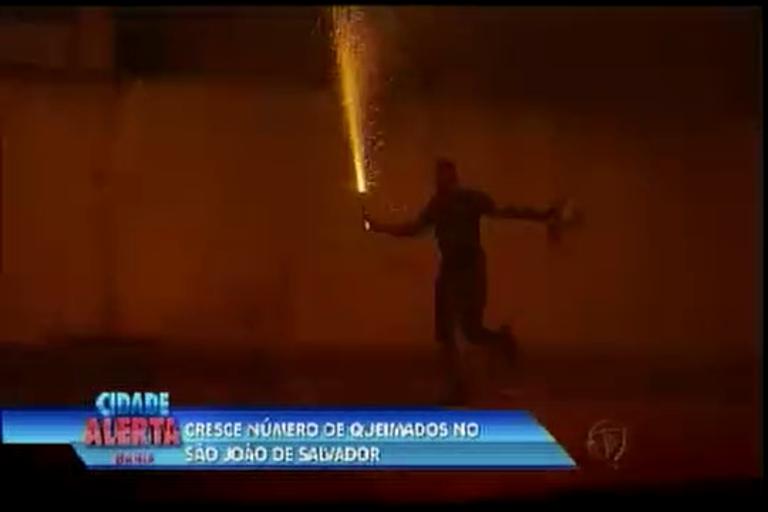 Cresce número de queimados no São João de Salvador - Bahia ...