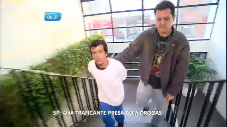 Anã suspeita de traficar drogas é presa na zona leste de São Paulo ...