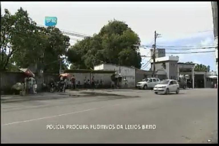 Polícia procura fugitivos da Lemos de Brito - Bahia - R7 Bahia no Ar