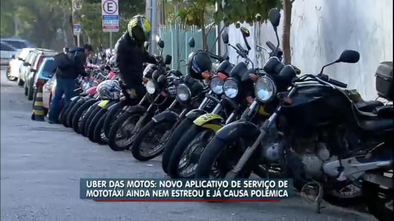 Polêmica: aplicativo promete estreitar serviço de 'mototáxi' em São ...