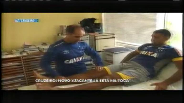 Esporte: Novo atacante do Cruzeiro já está na Toca da Raposa