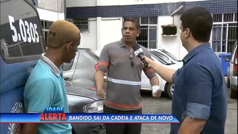Assaltante é preso e leva sermão de vítima na delegacia - Notícias ...