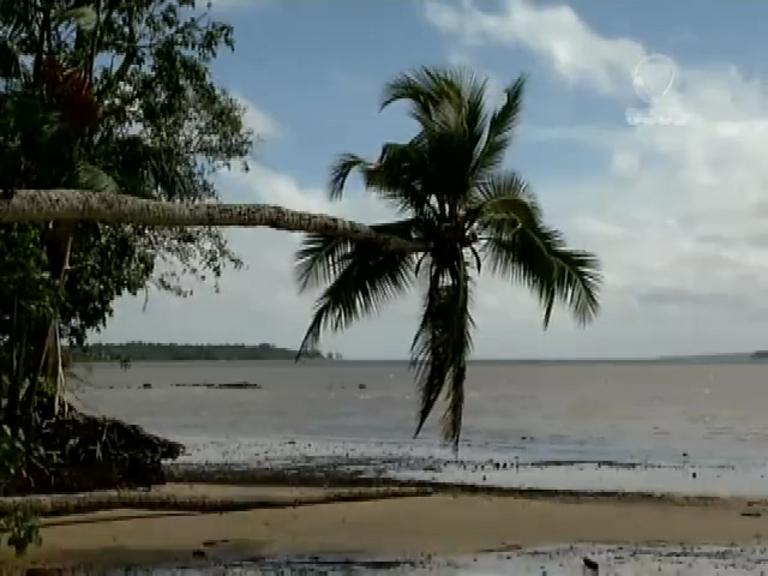 Praias de água surpreendem turistas e esportivas com cenários inusitados no coração da Amazônia