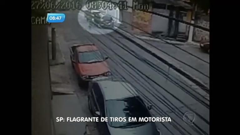 Flagra: bandido atira em motorista durante briga de trânsito na zona ...