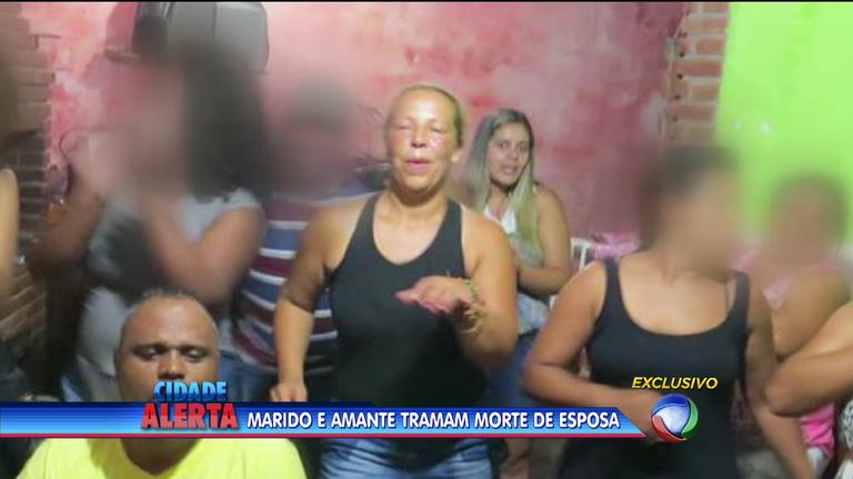 Homem é preso após tramar com a amante a morte da própria esposa