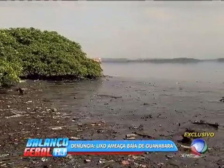Assoreamento de trecho da Baía de Guanabara chega a 30 metros de altura