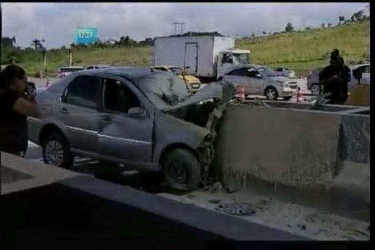 Motorista morre após bater veículo no pedágio - Bahia - R7 Balanço ...