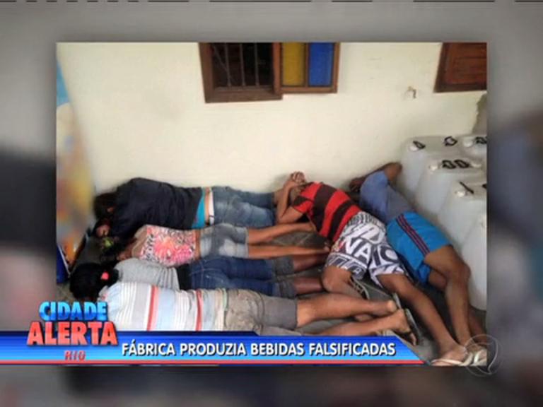Polícia desarticula fábrica de bebidas falsificadas e prende 7 ...