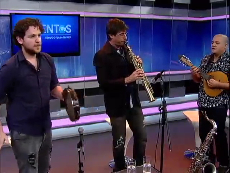 Trio Código Ternário apresenta música instrumental de qualidade no Talentos