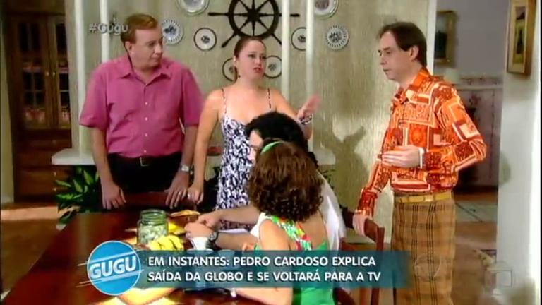 """Pedro Cardoso fala sobre os bastidores da Grande Família: """"Entrei pela porta dos fundos"""""""
