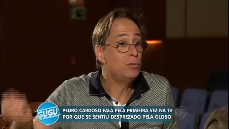 """Pedro Cardoso fala sobre saída da Globo: """"Merecia ter um projeto meu"""""""