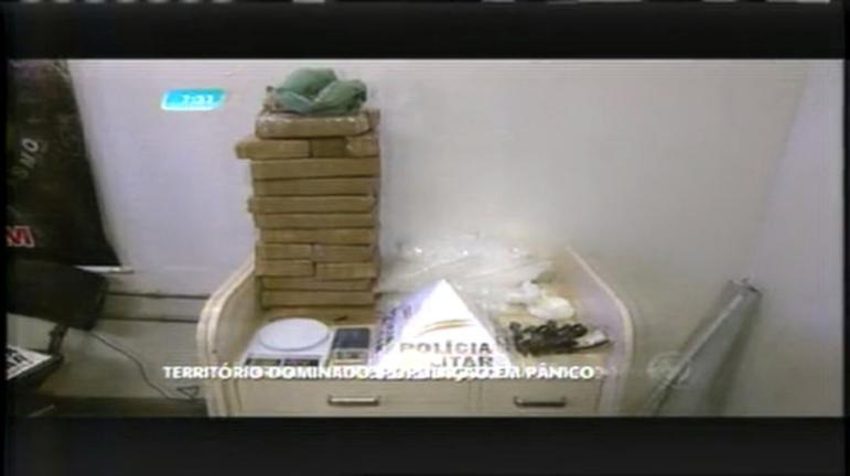 Gangues disputam pontos de tráfico de drogas no bairro São José, em BH