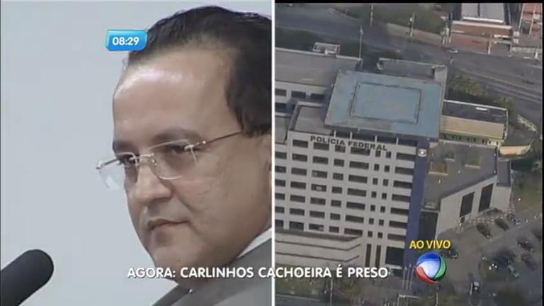 Polícia Federal prende Carlinhos Cachoeira suspeito de lavagem ...
