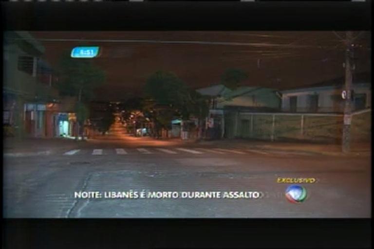 Jovem libanês é morto durante assalto em Belo Horizonte
