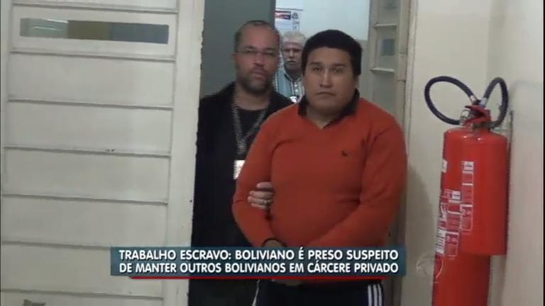 Boliviano é preso suspeito de manter outros bolivianos em cárcere ...