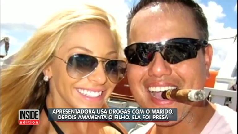 Repórter de TV nos EUA é presa após usar drogas e amamentar ...