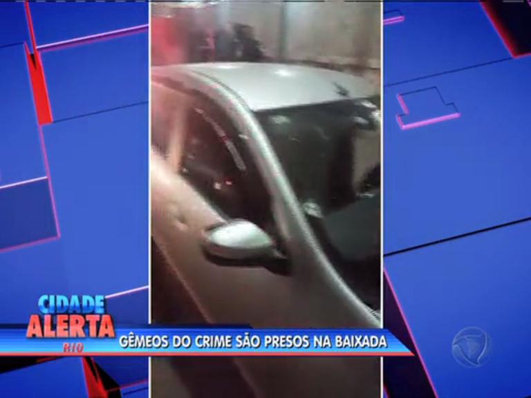Três suspeitos de furtar carro são presos em Nova Iguaçu