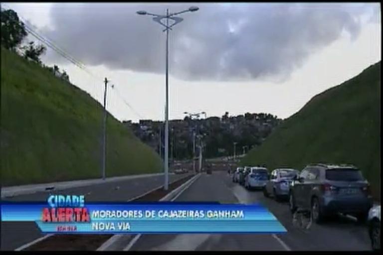 Moradores de Cajazeiras ganham nova via