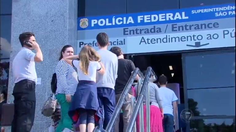 Polícia Federal suspende emissão de passaportes em todo o País ...
