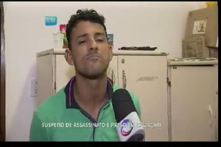 Suspeito de assassinato é preso em Camaçari - Bahia - R7 Balanço ...