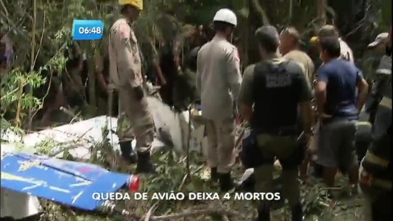 Tragédia: queda de avião deixa quatro mortos em Belém ( PA ...