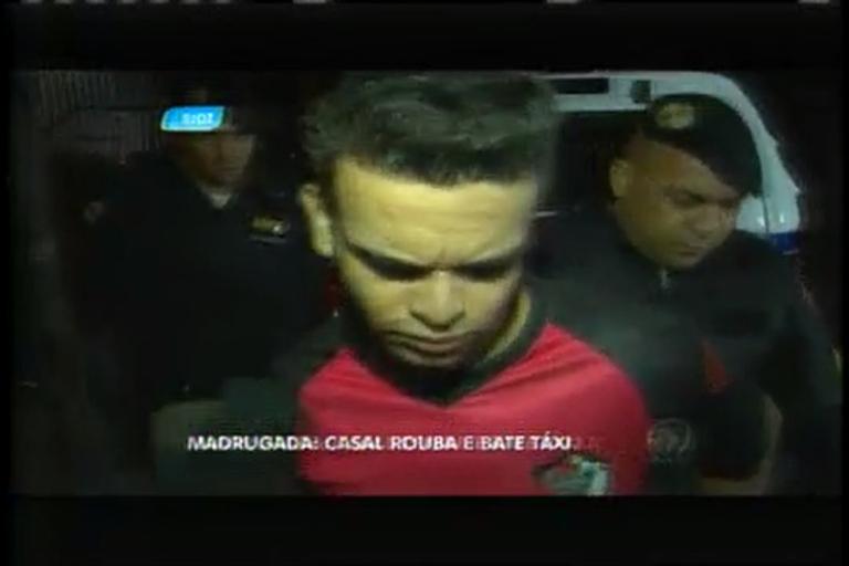 Casal é preso após roubar e bater táxi no centro de Belo Horizonte ...