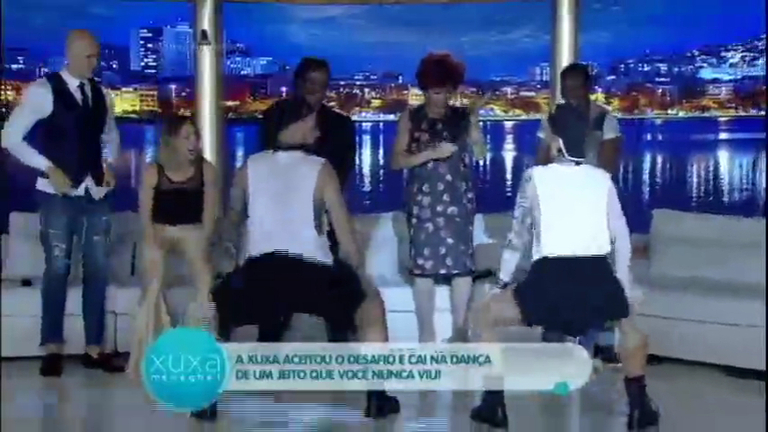 Xuxa aceita o desafio e dança Work, hit de Rihanna e Drake ...