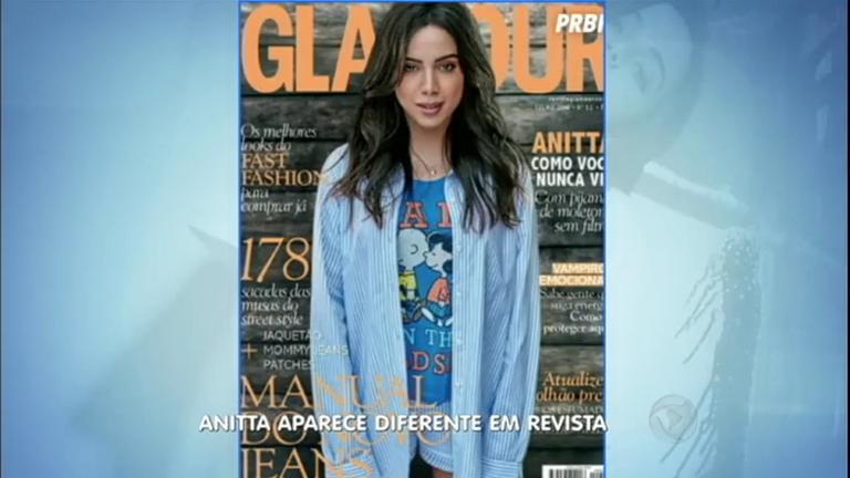 Hora da Venenosa: Anitta fica irreconhecível em capa de revista ...