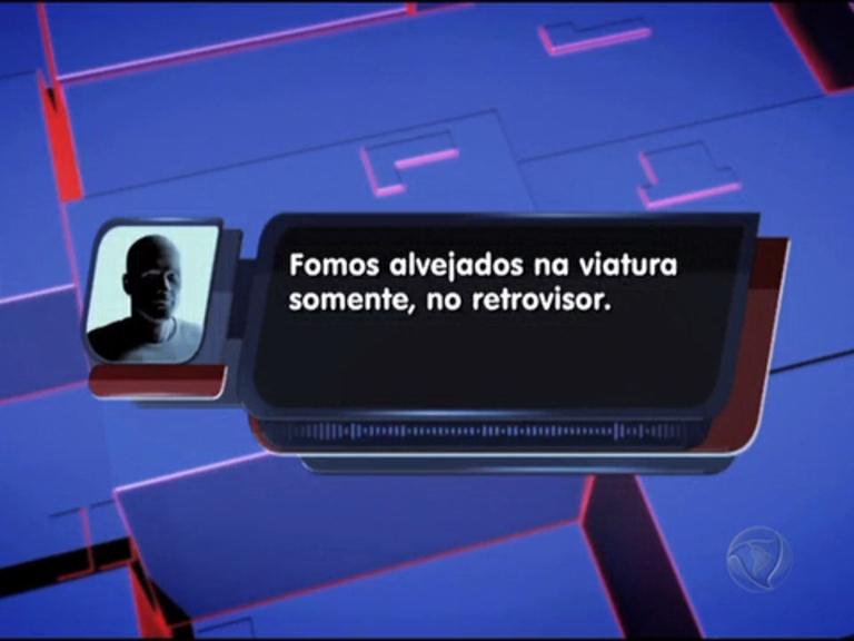 Viatura da Força Nacional é alvejada na avenida Brasil; ouça áudio ...